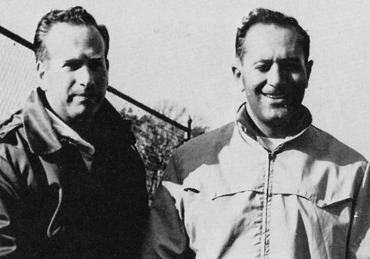 Coach Weitz and Coach DiRico