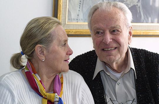 Jess & Joyce Weiss © Joe DiMaggio