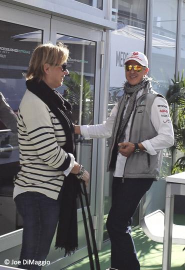 Driver Michael Schumacher© Joe DiMaggio-